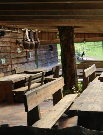 La buvette - Ranch du Rotzé